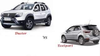 Comparison Ford EcoSport Vs Renault Duster: compare price & technical specifications