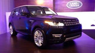 All-new Range Rover Sport launched in India at Rs 1.09 crore