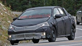 Next-generation Toyota Corolla caught testing; Features Camry-inspired design