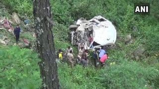 Uttarakhand: 13 Killed as Vehicle Falls Into Deep Gorge in Uttarkashi
