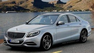 2013 Mercedes Benz S-Class rendered images