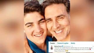 Akshay Kumar Wishes Son Aarav on Birthday With a Lovely Twitter Message And It's What We Call The Right Kind of Viral
