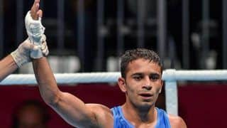 Amit Panghal Beats Hasanboy Dusmatov Again to Enter Asian Boxing Championship Semifinals