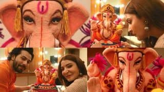 Ganesh Chaturthi 2018: Anushka Sharma And Varun Dhawan's Ganpati Bappa is most eco-friendly And Special; See Latest Pics