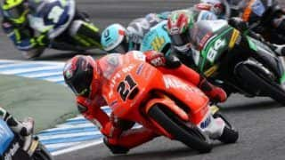 Team Mahindra at Spain GP 2015: Mahindra's Pecco surges from 16th to seventh in Spain