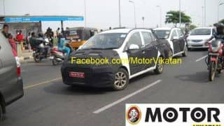 Next-gen Hyundai i10 shows up on the streets of Chennai