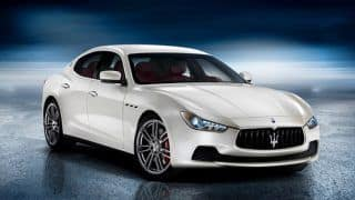 2013 Maserati Ghibli official pictures and details revealed