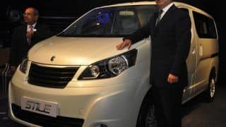 Ashok Leyland Stile MPV unveiled in India