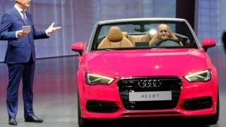 2013 Frankfurt Motor Show: Audi impresses with the A3 Cabriolet