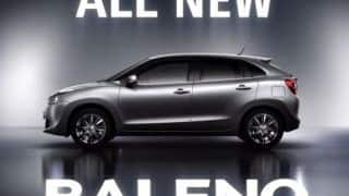 Suzuki confirms 1.0-litre BOOSTERJET direct-injection turbo-petrol engine for Baleno premium hatchback