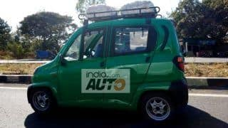 Bajaj Qute Car Spied Testing; Price in India, Engine & Other Details