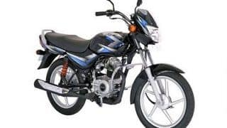Bajaj CT 100, Platina launched in two new variants; Price starts at INR 41,997