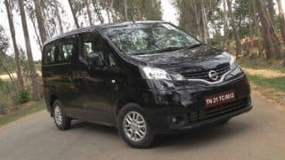Updated Nissan Evalia with more luxurious interior coming soon