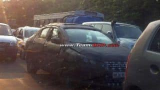 Maruti Suzuki YL1 sedan spotted again