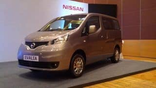 Nissan launches updated Evalia at Rs 8.78 lakh