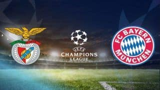 UEFA Champions League 2018-19, Benfica vs Bayern Munich Live Streaming And Preview, Where And When to Watch Online India