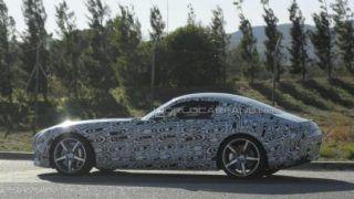 2015 Mercedes Benz SLC spied again