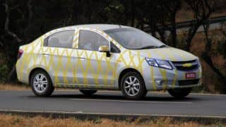 Official: Chevrolet to launch Sail sedan on February 1