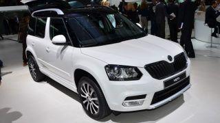 2013 Frankfurt Motor Show: Skoda Yeti facelift revealed