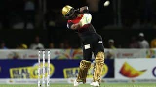 CPL 2018: Trinbago Knight Riders Skipper Dwayne Bravo Smashes Five Consecutive Sixes Against St Kitts & Nevis Patriots---Watch Video