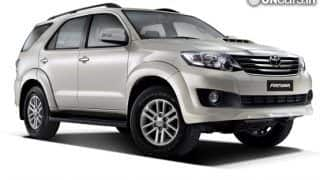Toyota Fortuner AT launched with a new 5-speed gearbox