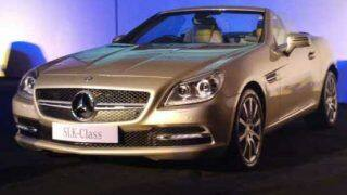 Live: Mercedes Benz SLK 55 AMG launch in India