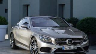 Mercedes-Benz S-Class Coupe launch date in India is July 30, 2015