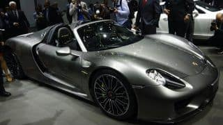 2013 Frankfurt Motor Show: Porsche 918 Spyder makes first appearance in production ready avatar