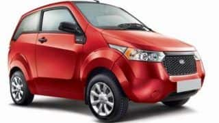 Mahindra Reva Unveils All-Electric Mahindra e2o: Company prices the vehicle at INR 5.59 lakh