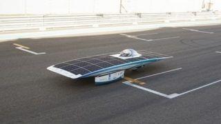 Solar Vehicles in UAE: UAE showcases its first ever 150 Kmph solar-powered car in Abu Dhabi