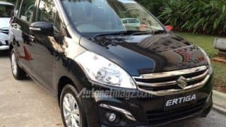 Maruti Suzuki Ertiga facelift spotted undisguised:  Get latest image, specifications and features