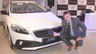 Volvo V40 Cross Country Launched in India: Volvo introduces V40 Cross Country Petrol at INR 27 Lakh