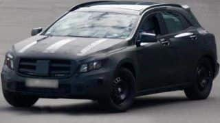 Mercedes Benz GLA crossover coming in early 2014