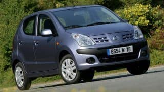 India-made Nissan Pixo (Suzuki A-Star) gets discontinued in UK