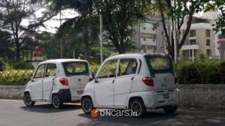 Bajaj RE60 spotted; Given green light by government for commercial use