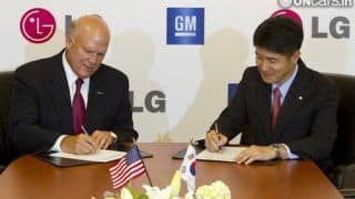 GM and LG to develop electric vehicles