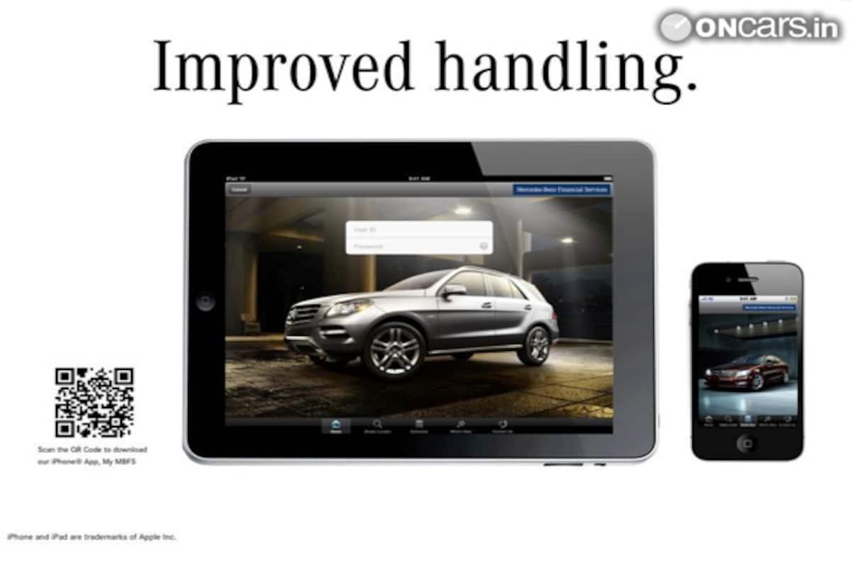 Mercedes launches 'myMBFS', an iOS app | News Cars News, India com