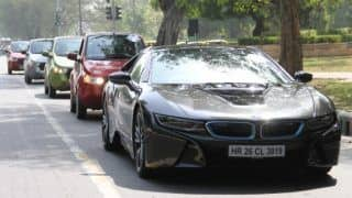 BMW drives its Green Car of the Year i8 at 'FAME India Eco Drive 2015' for World Environment Day