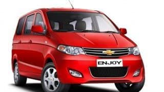 Chevrolet Cars India: Chevrolet offers discounts up to INR 85,000 on Enjoy, Sail, Beat and others