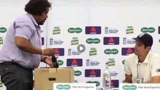 India vs England: British Media Gift Retiring Alastair Cook a Fitting Farewell Gift, Present Him With 33 Beer Bottles