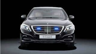 What makes Mercedes Benz S600 Guard so special: Ultimate in Safety
