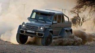 Video: Mercedes Benz G63 AMG 6x6 is invincibly awesome!
