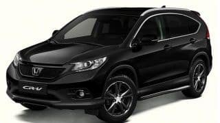Honda CR-V Black Edition launched in Europe