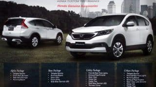Honda's Modulo kit for the CR-V launched in Malaysia
