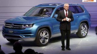 2013 NAIAS: Volkswagen CrossBlue Concept