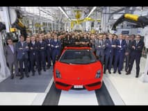 Lamborghini stops production of the Gallardo