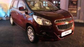 Chevrolet Spin MPV Unveiled: Get expected price, specifications and launch date