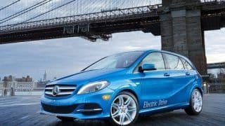 2013 NAIAS: Mercedes Benz B-class Electric Drive revealed