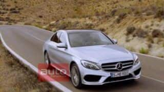 2014 Mercedes Benz C-Class leaked again