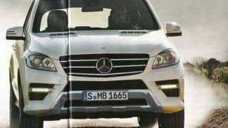 2012 Mercedes Benz M-class images leaked